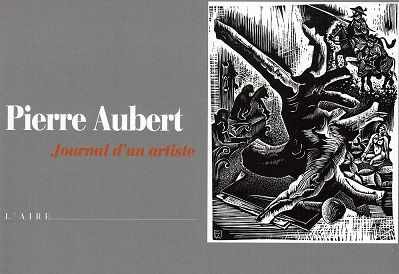 Journal d'un artiste, de Pierre Aubert