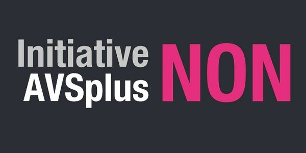 Non à l'initiative AVSPlus