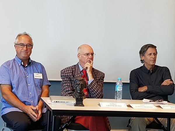 Gilles Granereau, Yves Durand-Raucher et Olivier Postel-Vinay