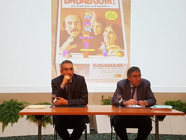 Dr Laurent Seravalli, médecin, La Chaux-de-Fonds, et Jean-Hugues Busslinger, Centre Patronal, Paudex