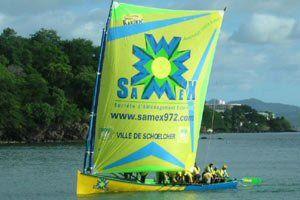 Martinique - Sponsor Samex - Ville du Robert - Patron : Frédéric Melchior