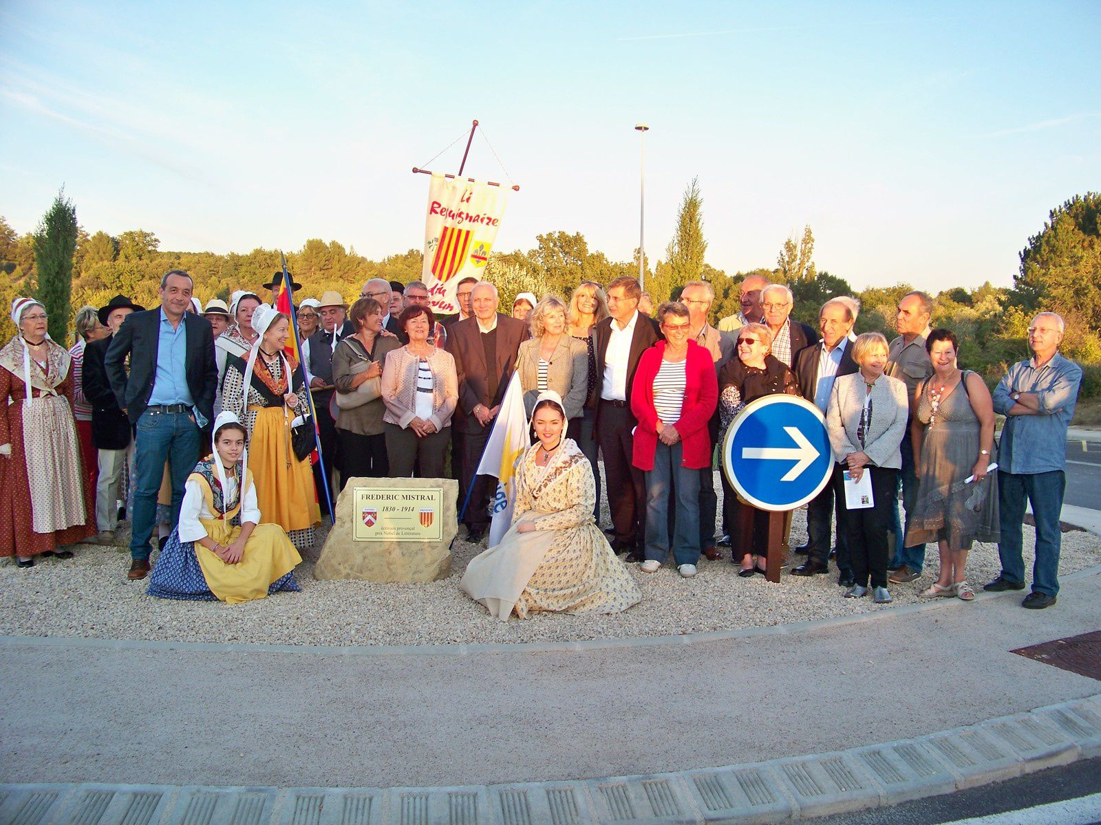 UN ROND-POINT POUR LE VILLAGE