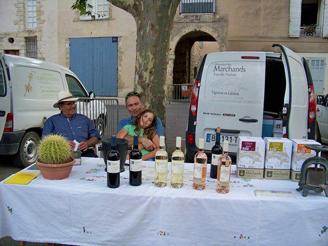 Les vins du Luberon à l'honneur