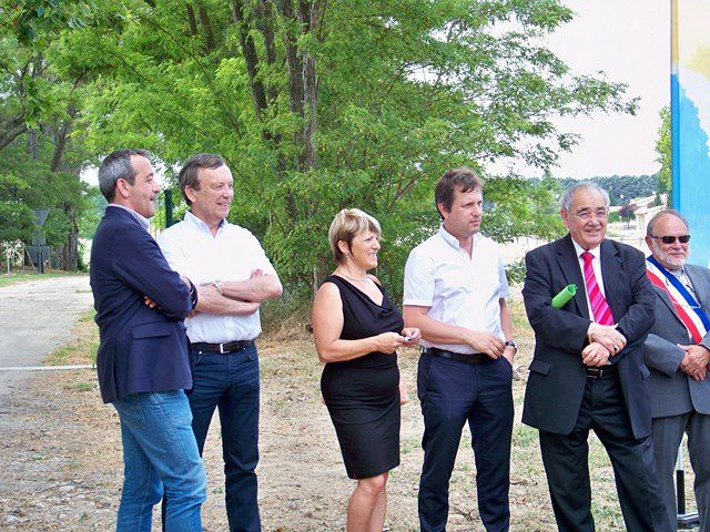 Inauguration de la déviation Cadenet/Villelaure
