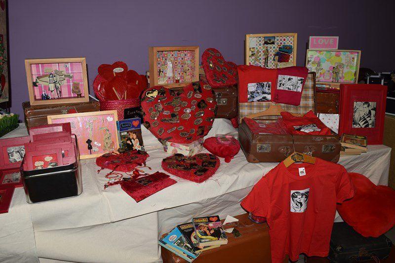 Un salon pour la St Valentin