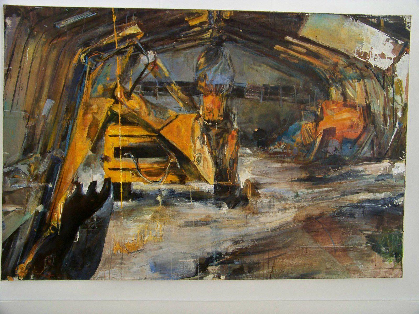 L'artiste peintre, Céline Gauthier, s'expose à la Laiterie