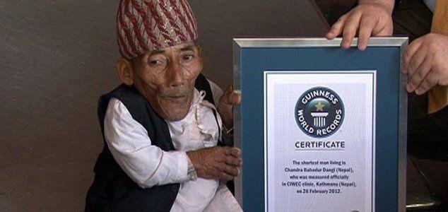 L'homme le plus petit du monde est décédé à l'age de 75 ans
