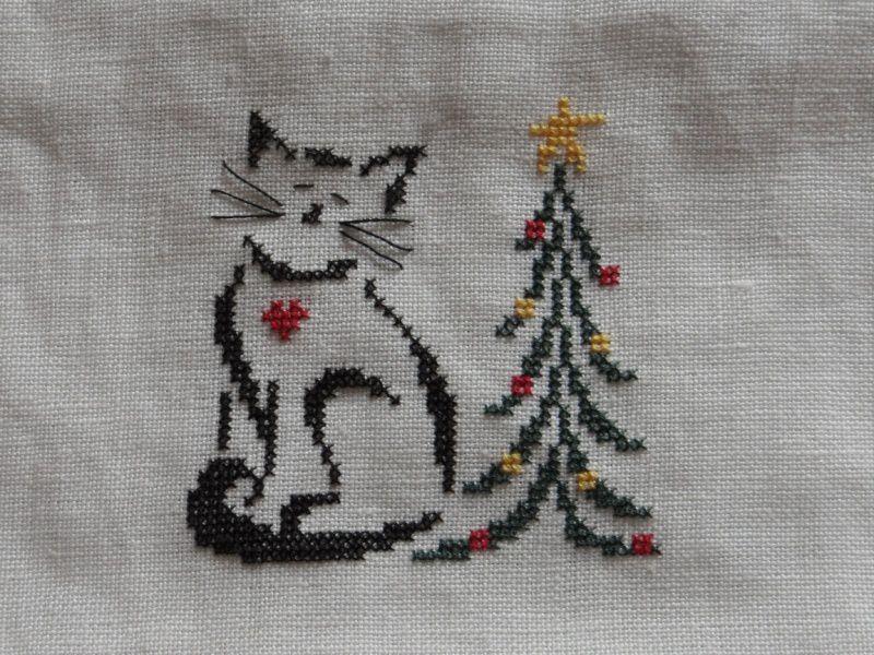 Britty Christmas Kitty