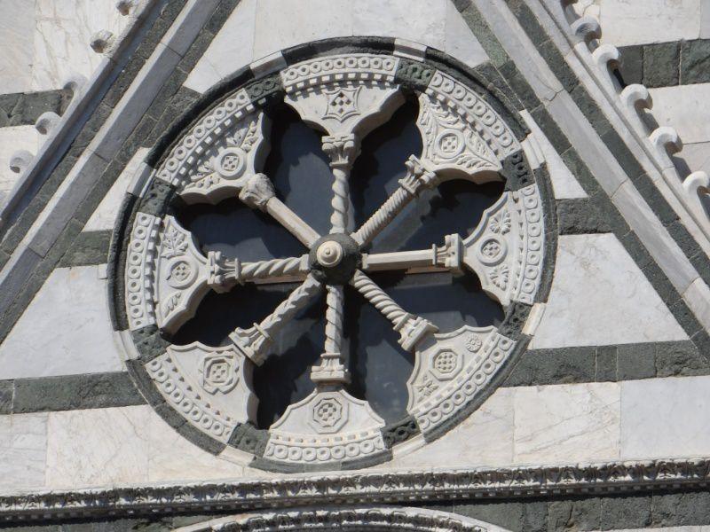 une église, le baptistère, le Duomo, autres églises