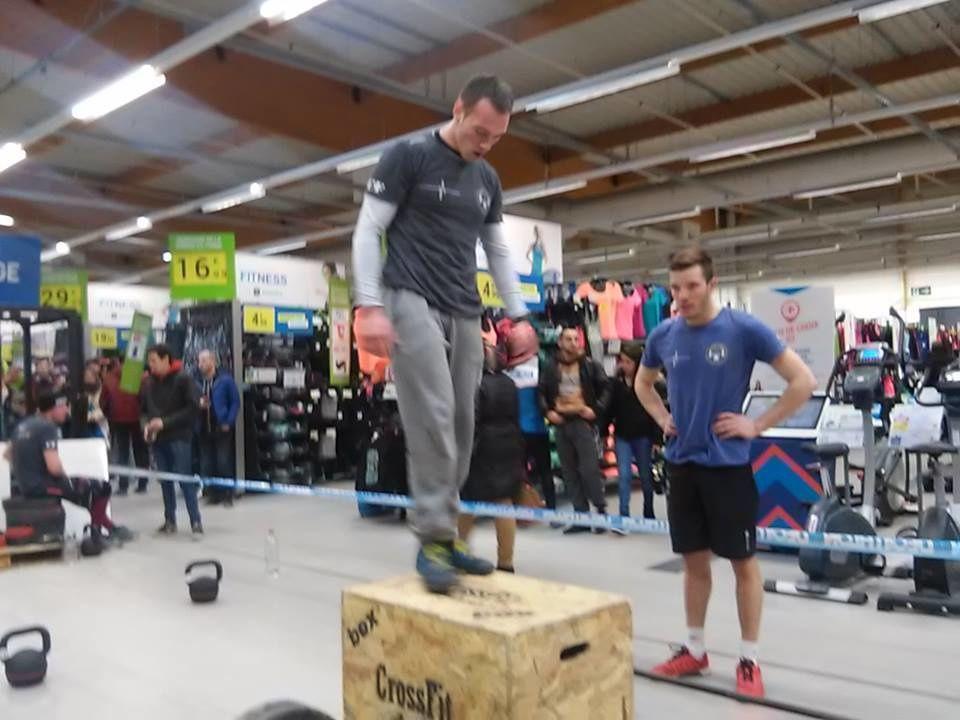 Animation CrossFit SB Chez Décathlon Amiens