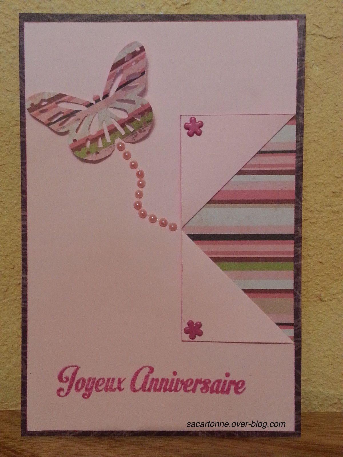 Des petites cartes pour des anniversaires