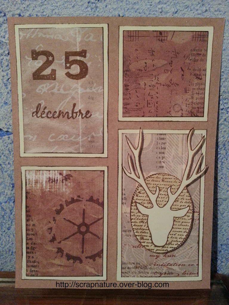 Carton Noël n°10
