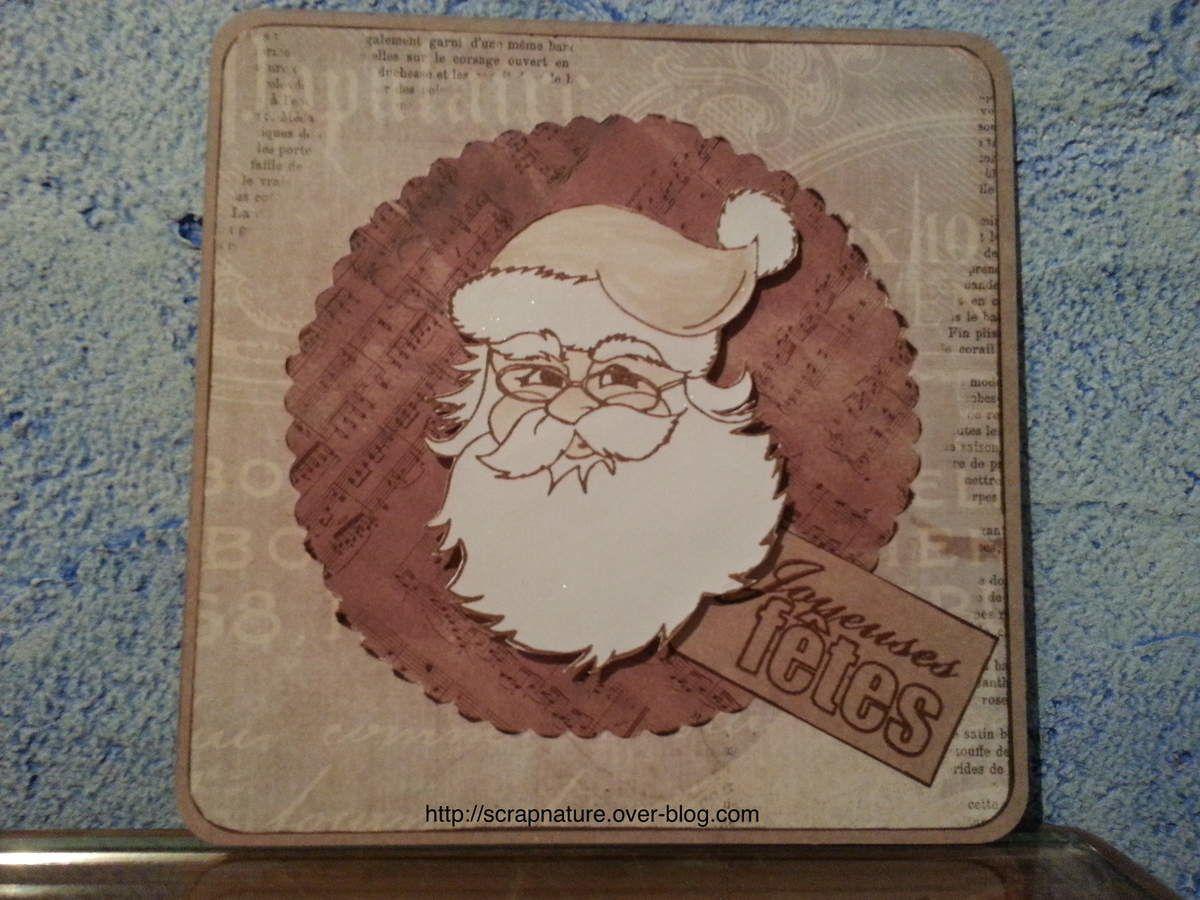 Carton Noël n°9