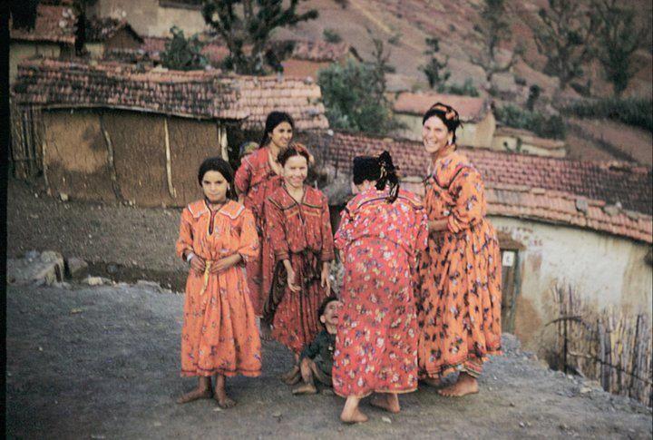 Photos visages &amp&#x3B; paysages de Kabylie