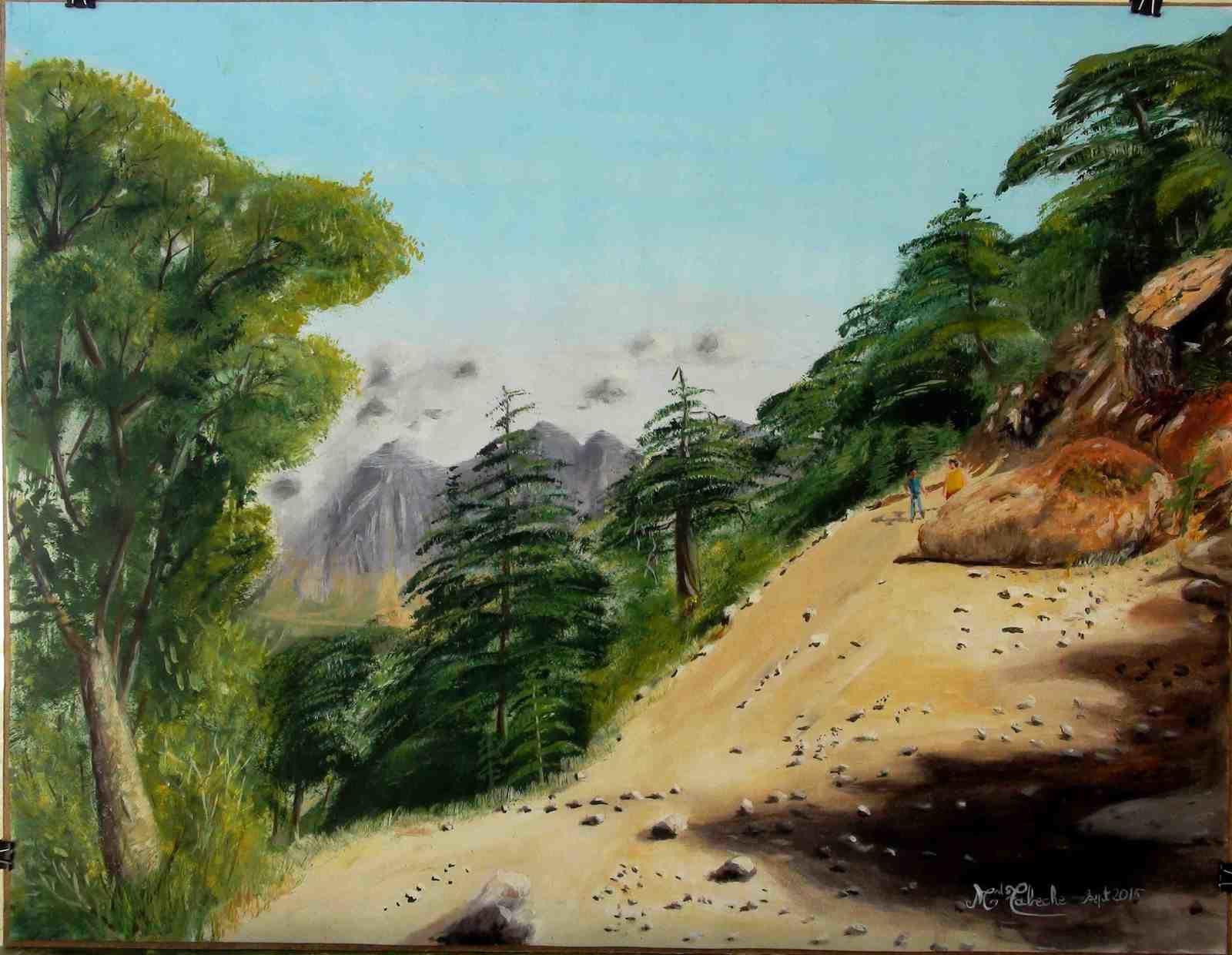 Exposition de Mohamed Tabeche