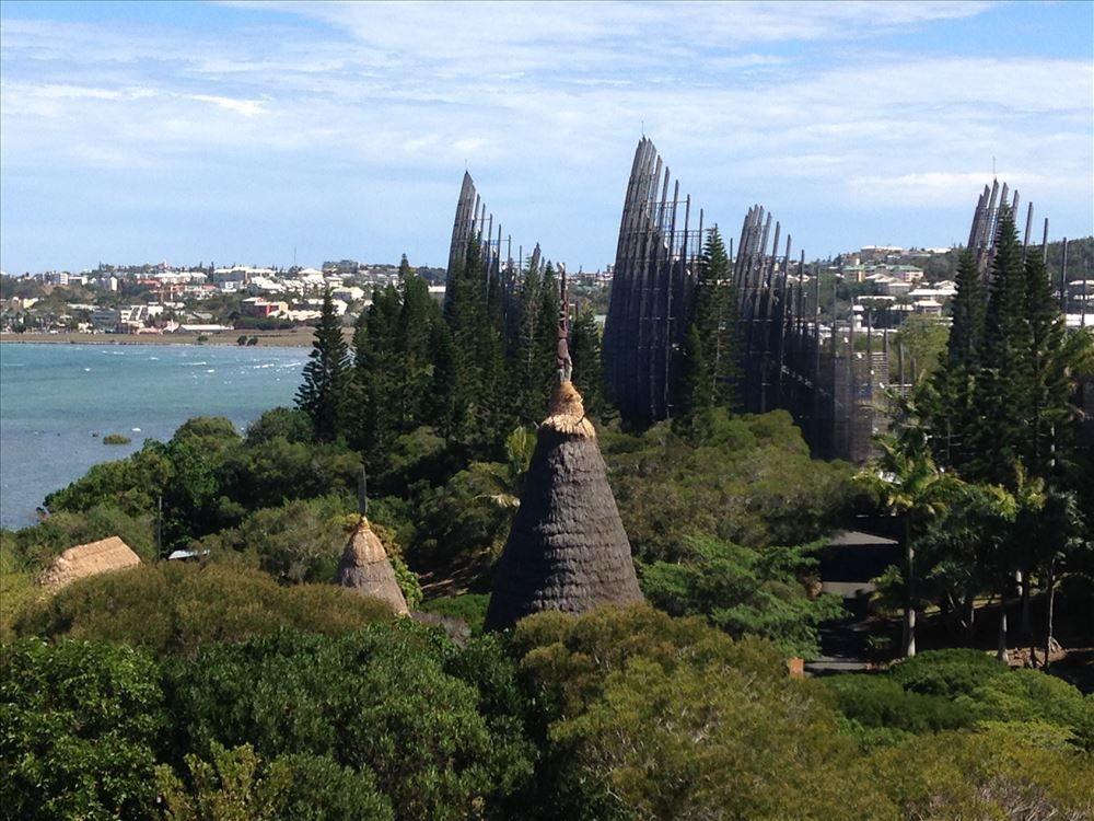 Centre Culturel Tjibaou ~ Nouvelle Calédonie