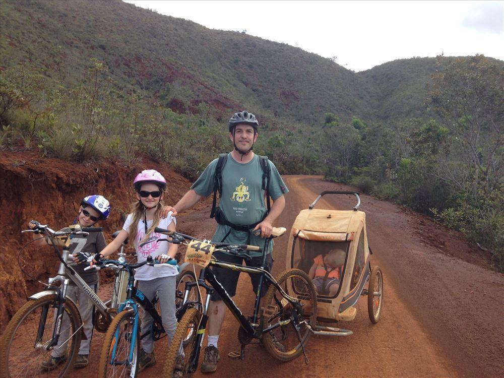 Parc de la rivière bleue en vélo ~ Nouvelle Calédonie