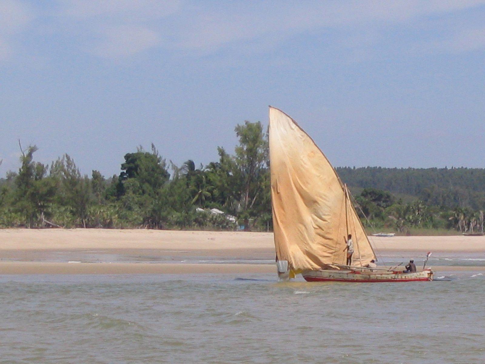 plage d'Antsanitia - Majunga