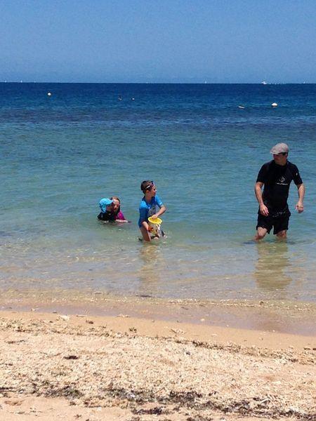 Matinée en famille à l'îlot canard ~ Nouméa