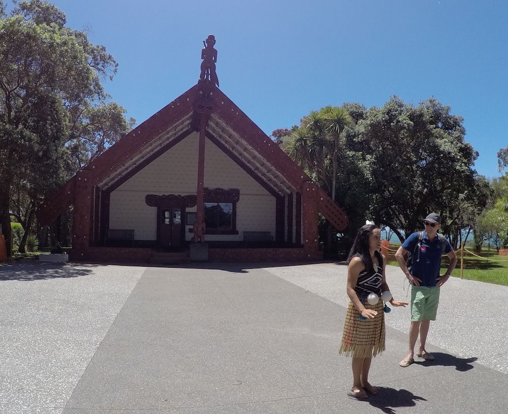 Représentation de danse - Waitangi