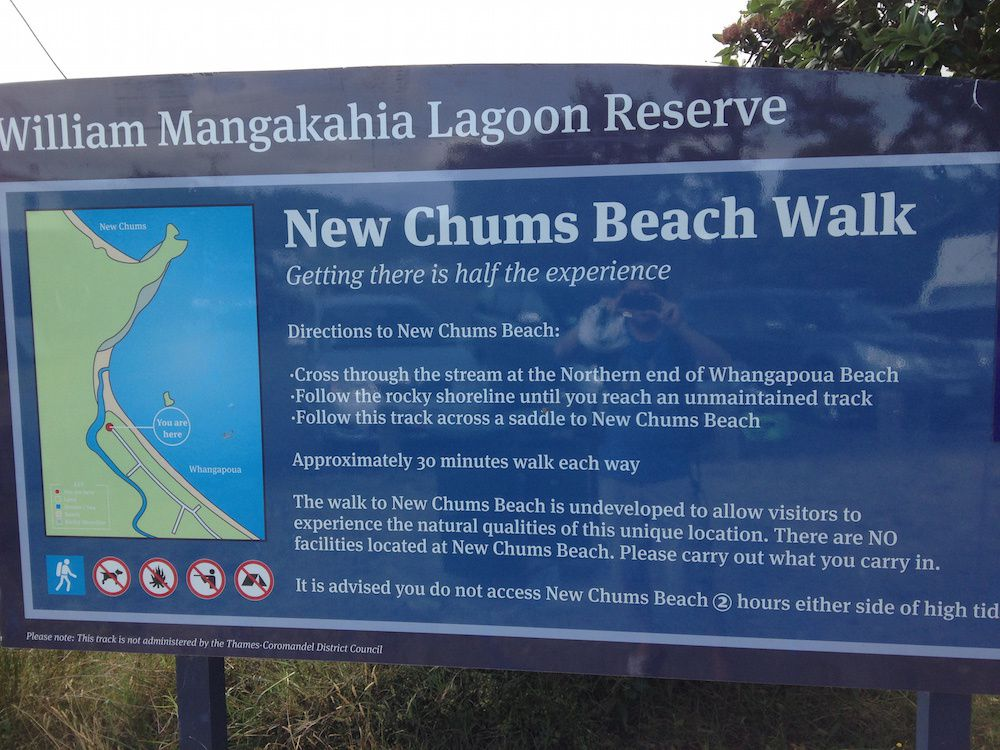 New Chums Beach Walk