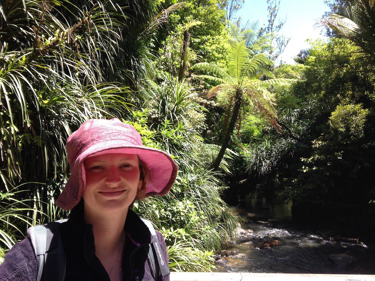 Jour 25 - Whaanga Road et Bridal Veil Falls