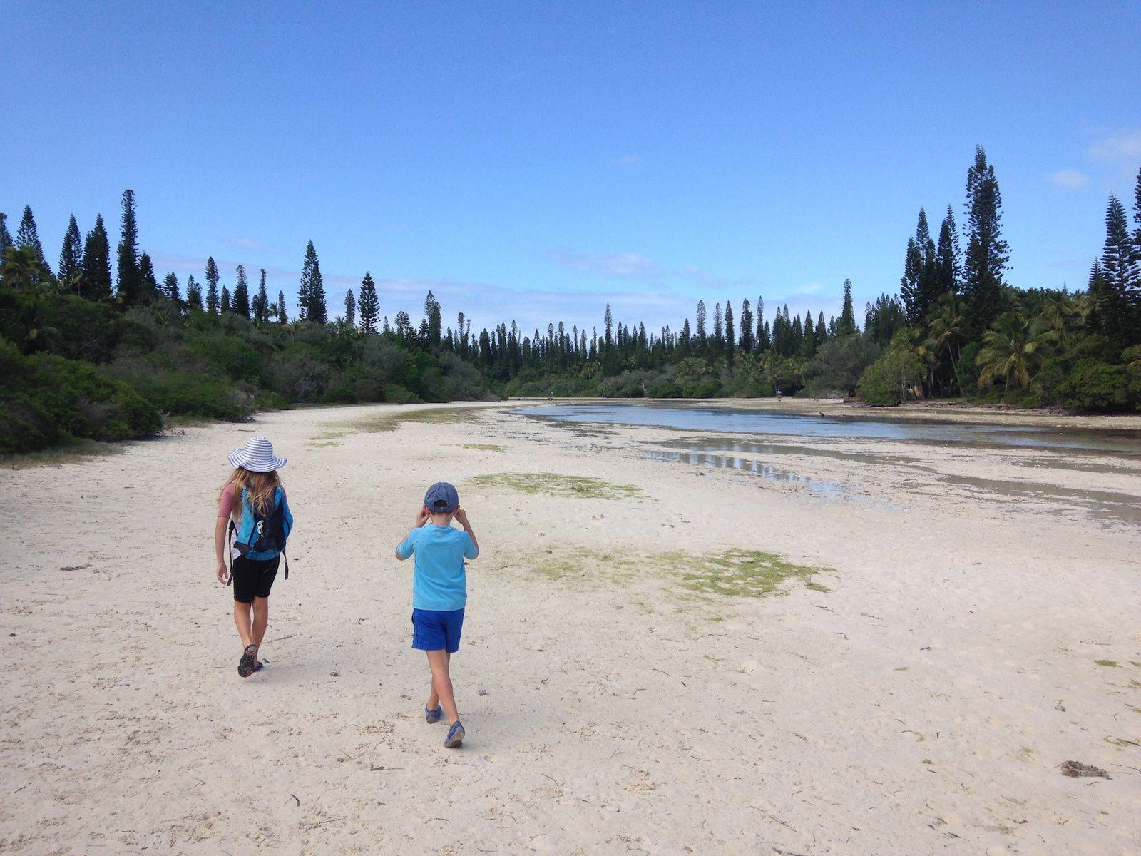 Piscine naturelle de la baie d'Oro ~ île des pins ~ Nouvelle Calédonie