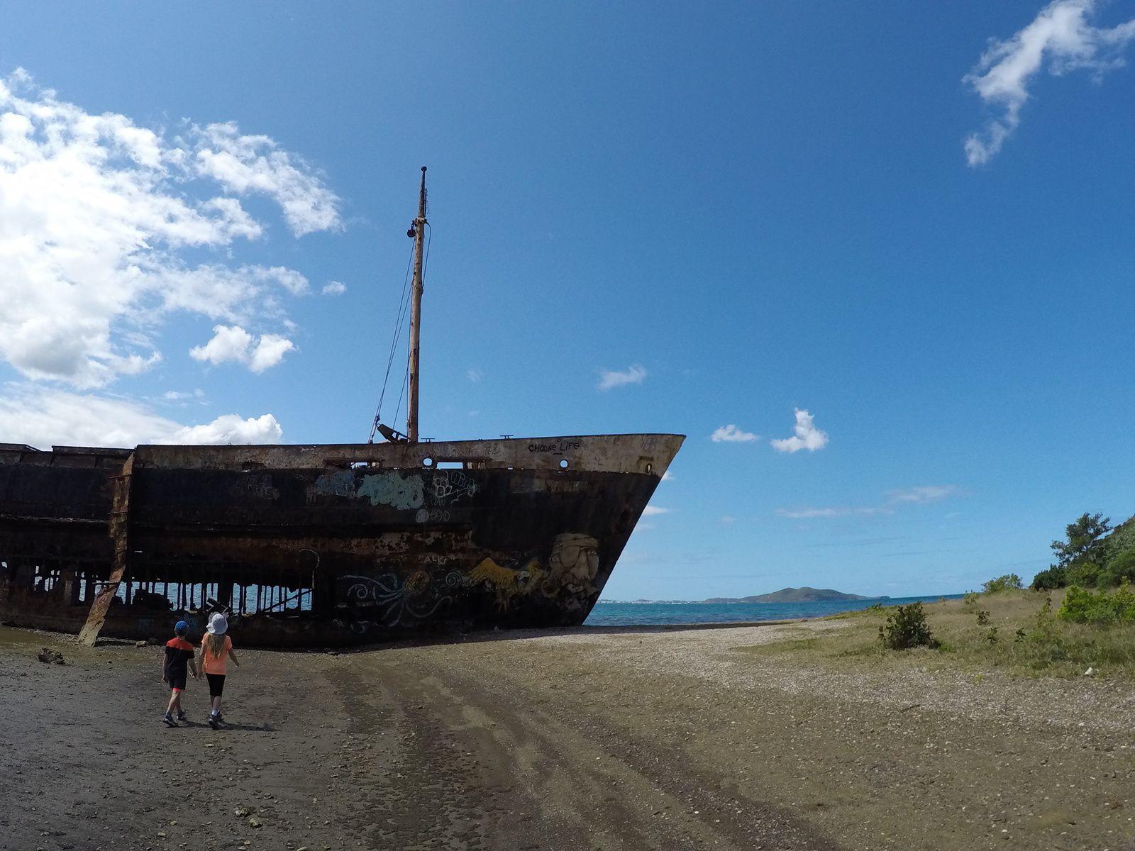 Epave du Mélanésia  ~ Baie de Toro  ~ Nouvelle Calédonie
