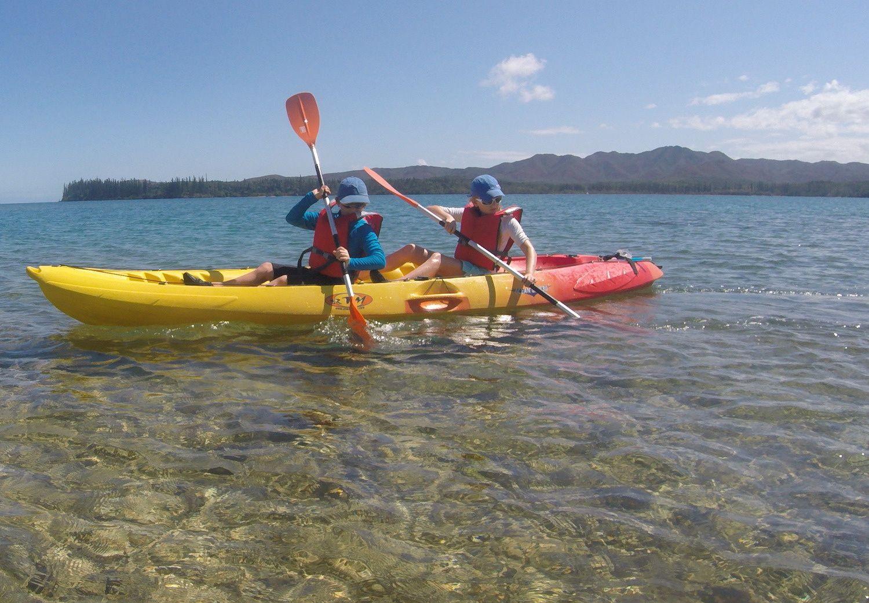 Sortie Kayak à Port Boisé ~ Nouvelle Calédonie