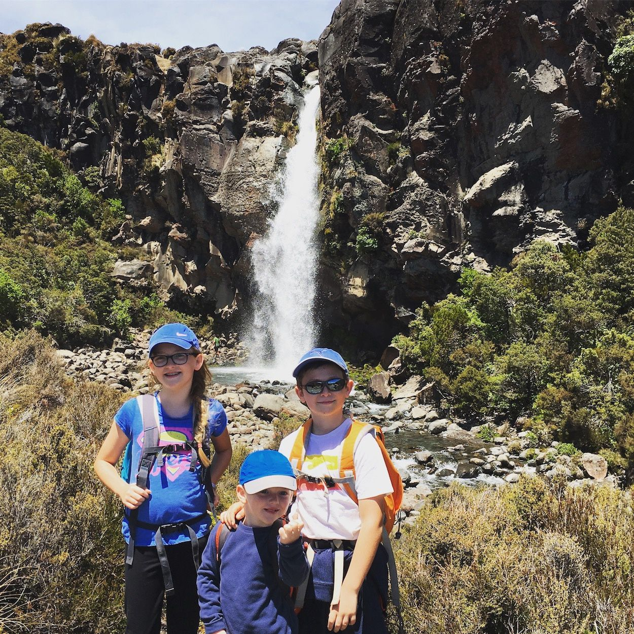Randonnée à Taranaki Falls ~ Tongariro National Park ~ Nouvelle Zélande