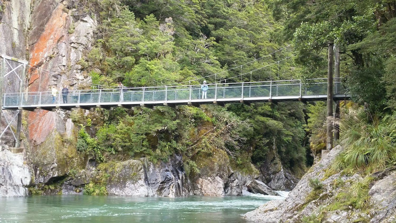 Randonnées à blue pools et kidds bush ~ Nouvelle Zélande