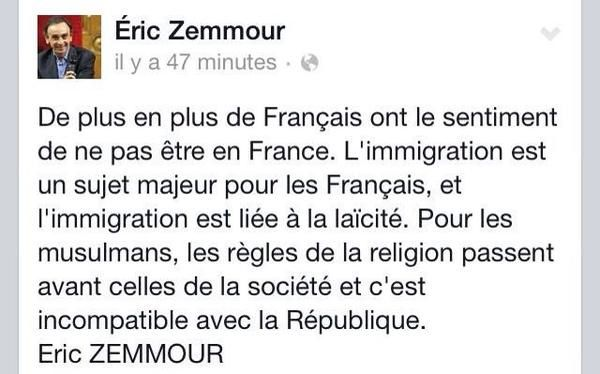 comment rencontrer eric zemmour