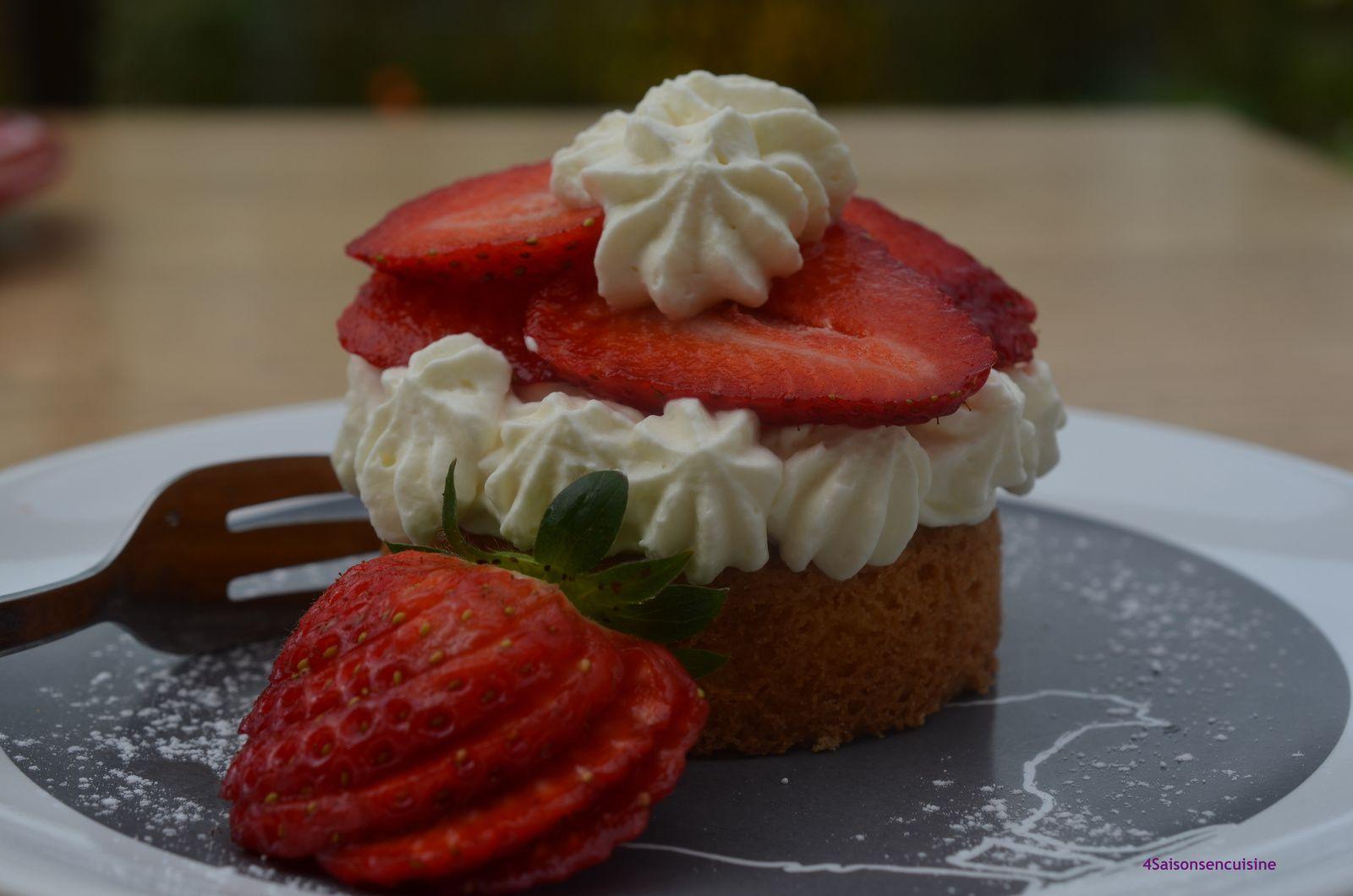 Tartelette aux fraises comme en Bretagne