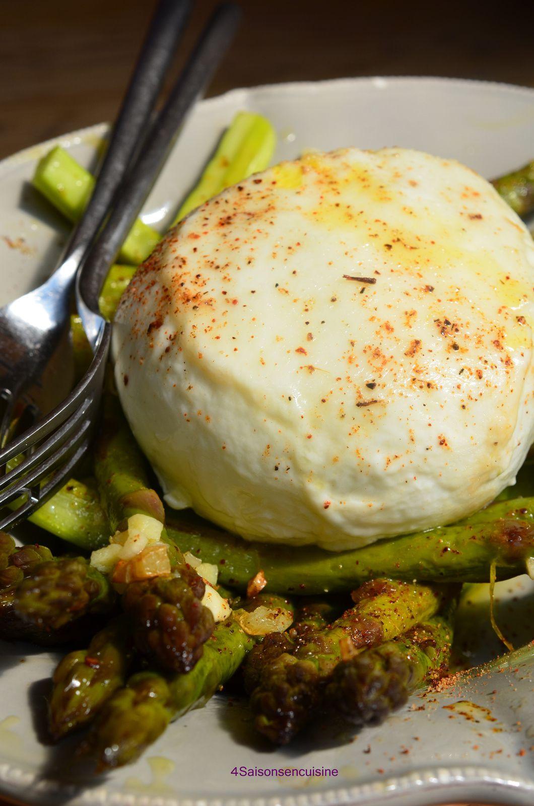 Asperges vertes l 39 italienne 4 saisons en cuisine - Cuisiner les asperges vertes ...