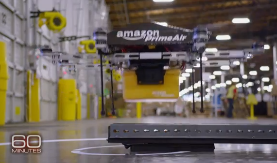 Amazon Drones Prime Air : du rêve à la réalité. Why not ? dit l'administration US !