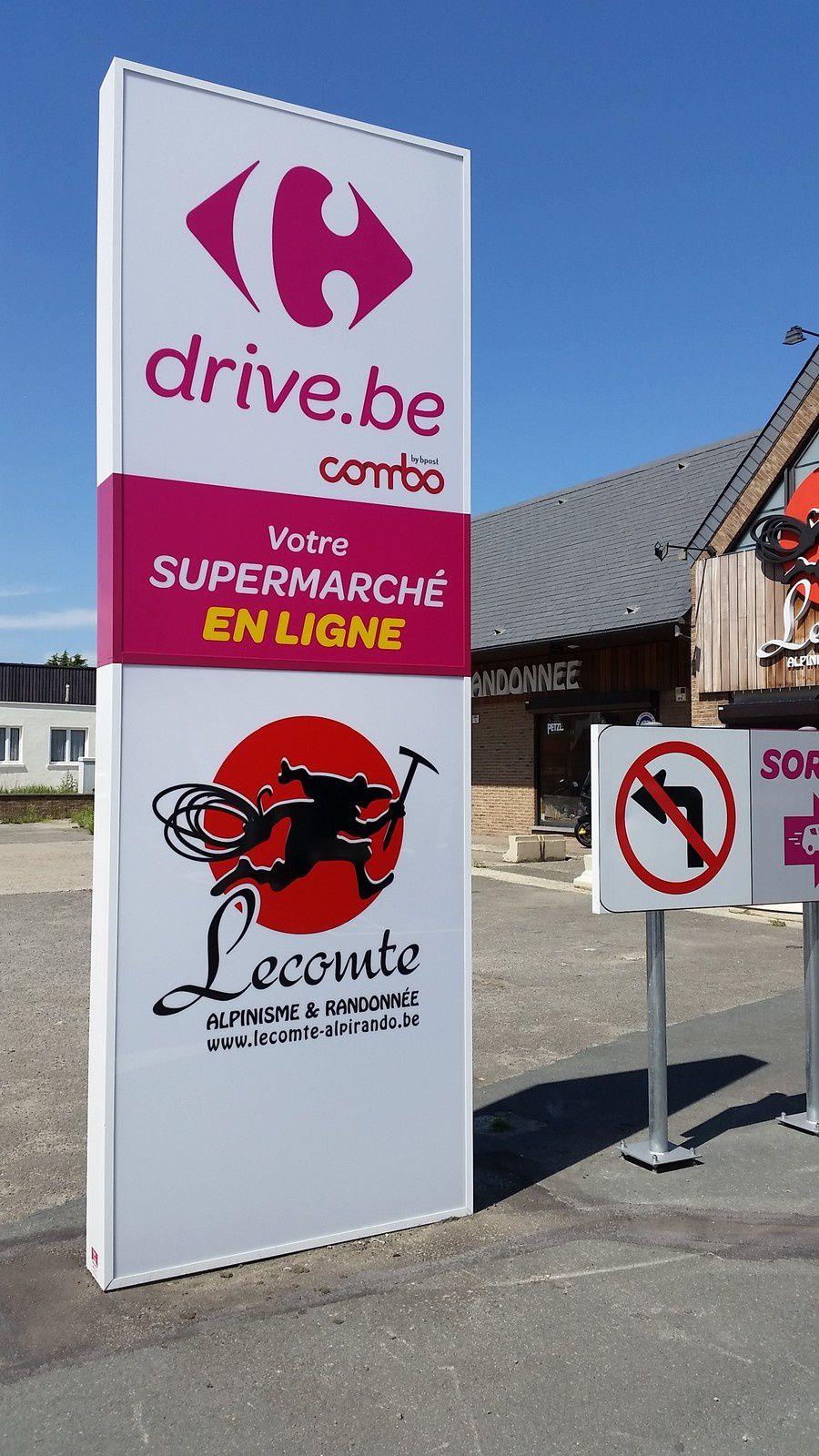 Carrefour drive belgique un superbe concept de proximit abouti for Comelectromenager carrefour belgique