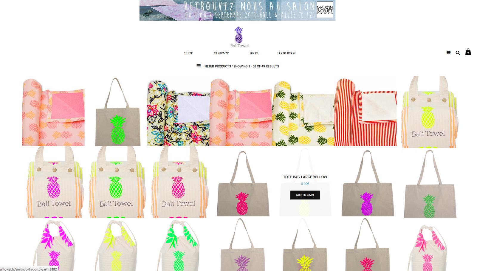 Bali Towel : Non une marque n'a plus forcément besoin d'être vendue en magasins pour se faire une place au soleil.