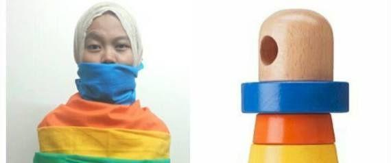 les clients Malaisiens sont invités à se déguiser en ... produits IKEA. Drole !