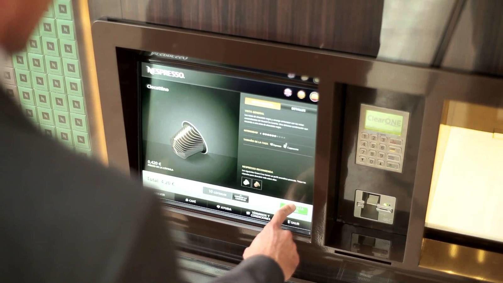 Vers un nouveau modèle de Shopping urbain connecté.  Sephora Flash, Undiz Machine, Nespresso Cube, Best Buy Chloé….