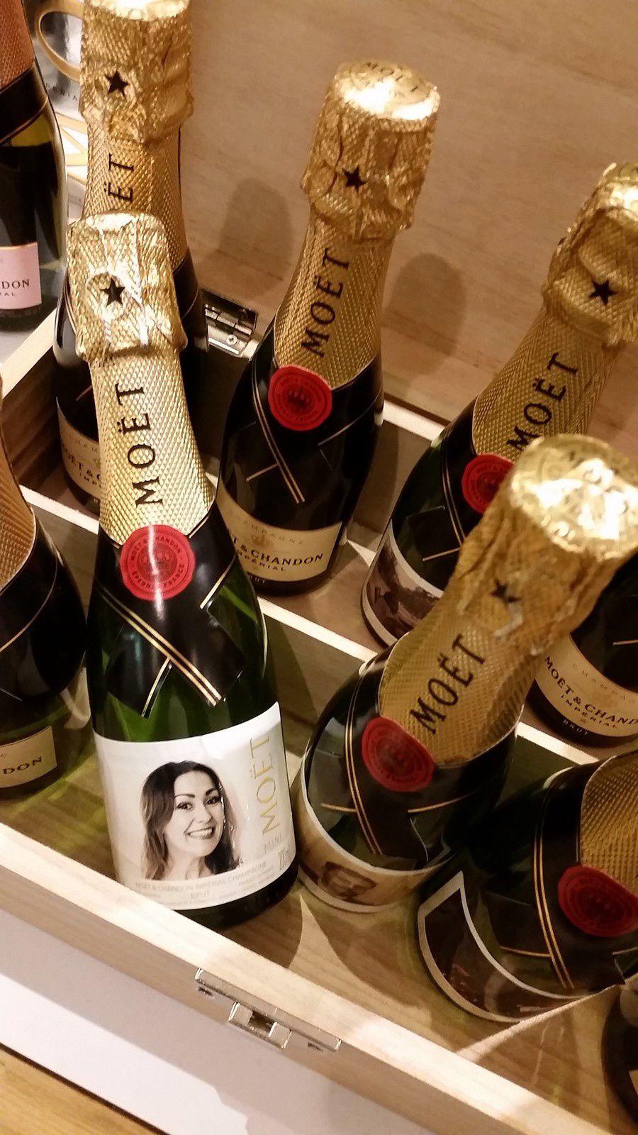 Noël London joue la ''personnalisation'': #2 l'atelier Moët Hennesy et Famous Grouse...