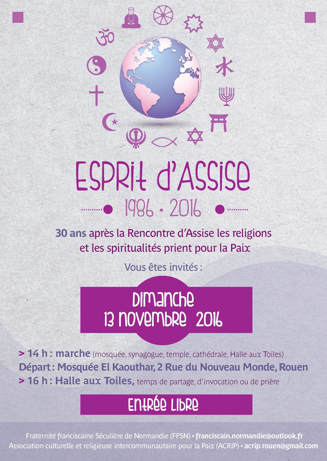 Rencontres d'assise 2016