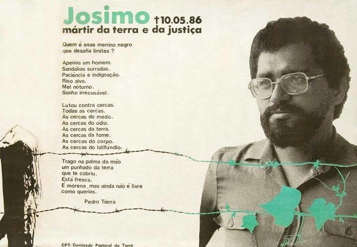Reportage photo lors de la messe anniversaire un an après la mort de Don Josimo Tavares le 11 mai 1987 à Saint Sébastien de Tocantins (Brésil)