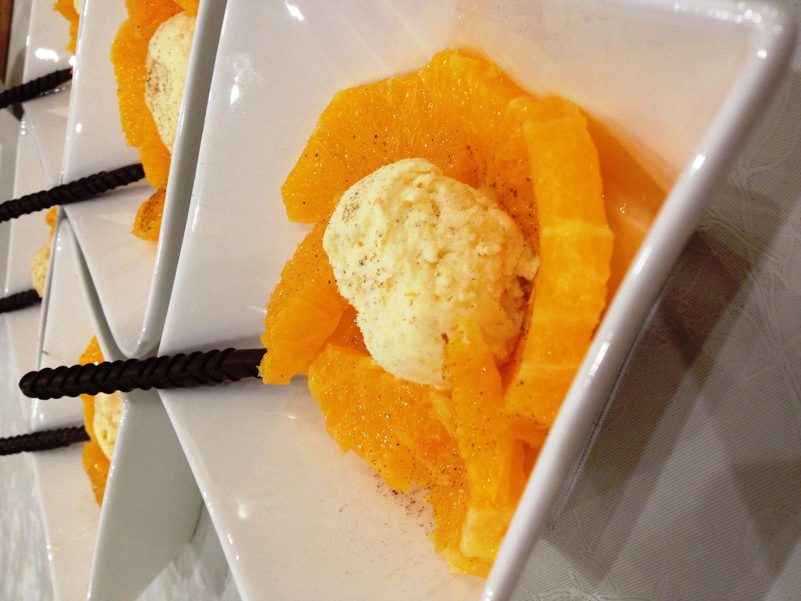 salade d orange et glace au grand marnier ma cagouille