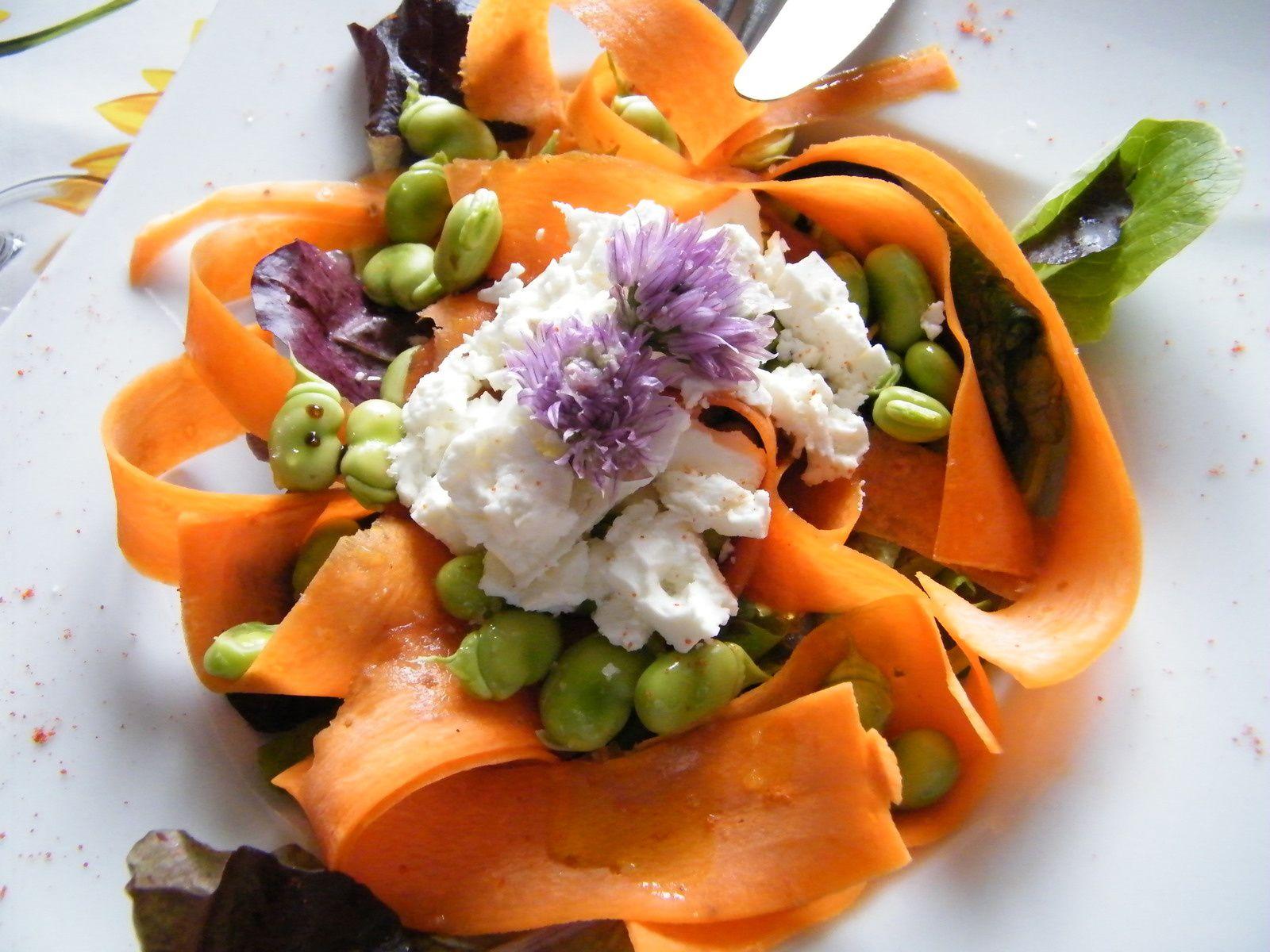 Petite salade qui croque, qui croque