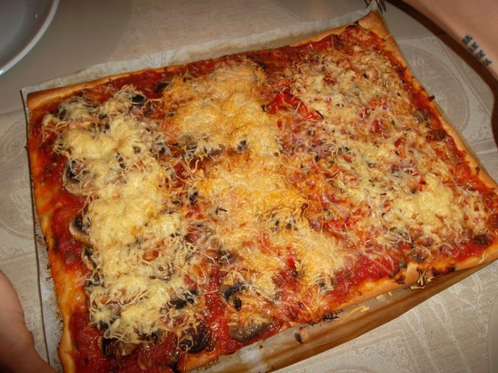 Pizza pour essayer de satisfaire toute la famille !