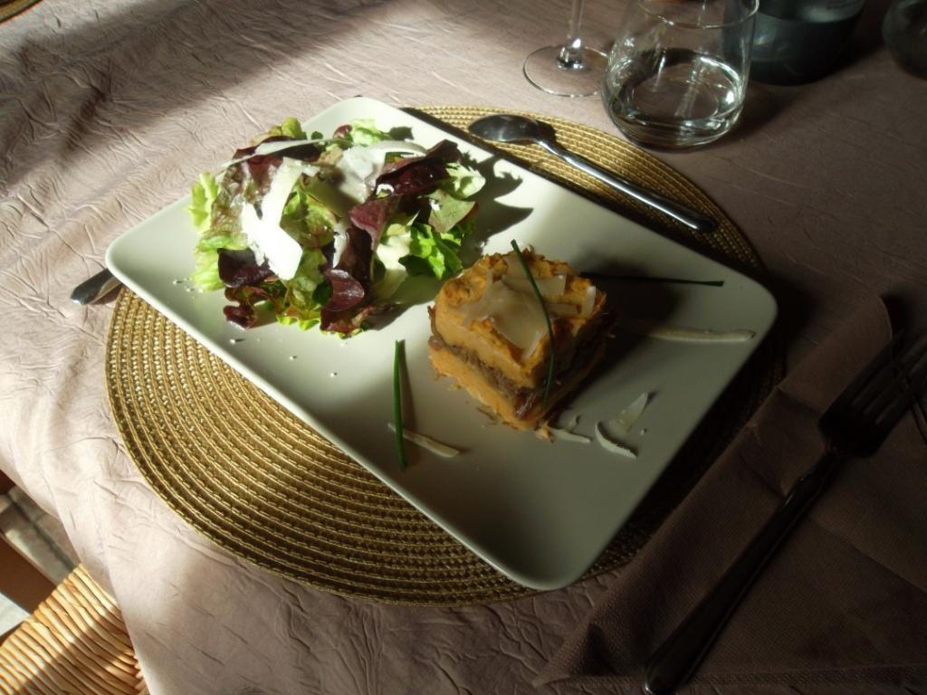 Parmentier de confit de canard aux cocos paimpolais