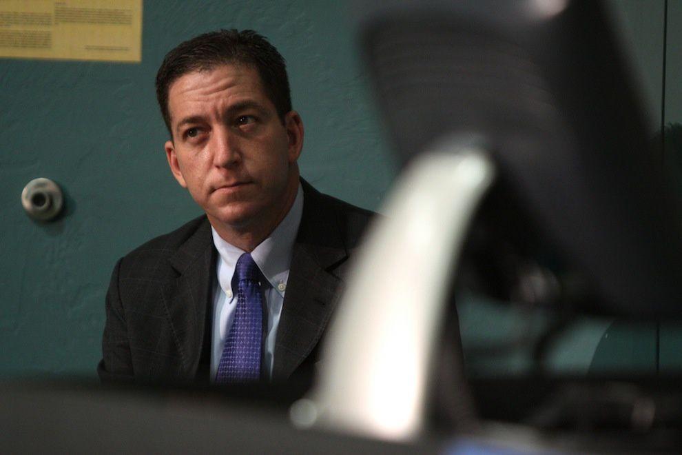 C'est grâce au courage de Glenn Greenwald que le Guardian publia les révélations d'Edward Snowden.