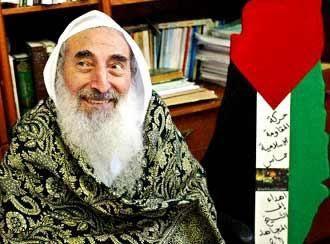 """Cheikh Yassine, un des dirigeants religieux les plus fanatiques, fut """"'homme""""  d'Israël à Gaza."""