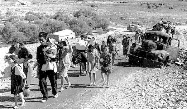 Les réfugiés palestiniens seront la plaie d'Israël.