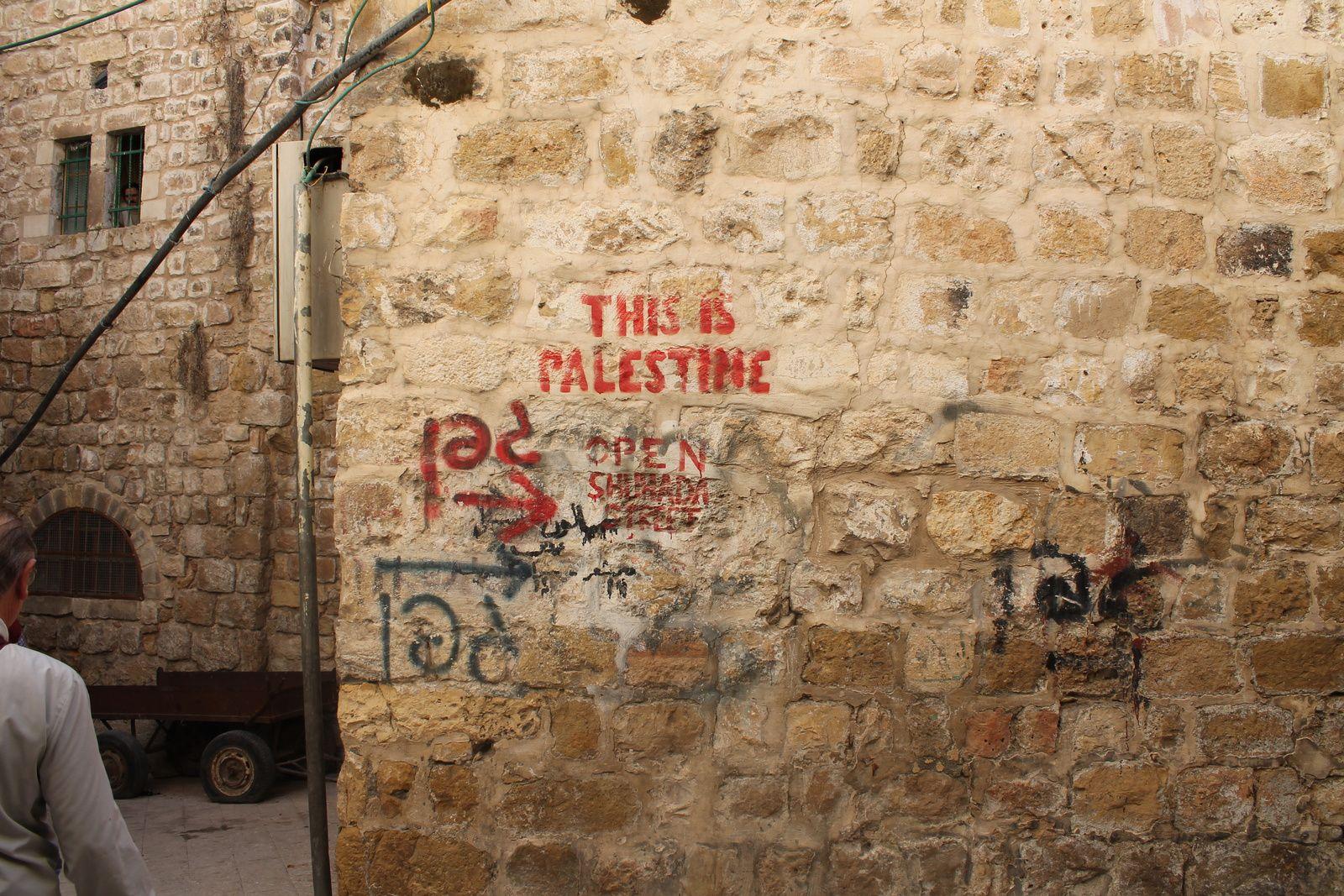 Dans la Vieille ville de Hébron